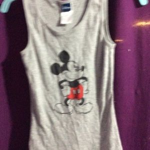 Ladies Mickey Mouse tank top